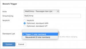 MailChimp Trigger