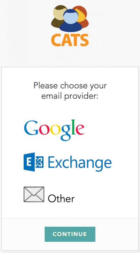 CATS Email Integratie